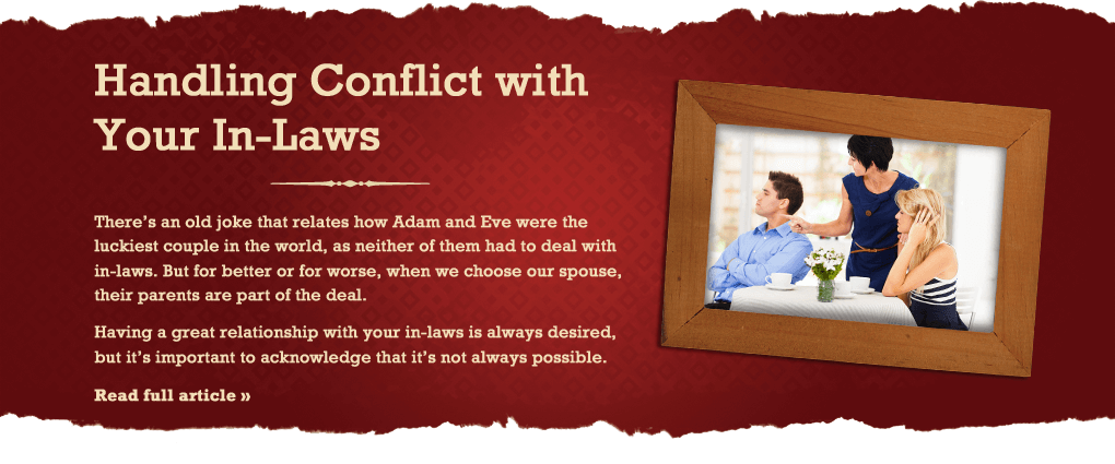 Handling Conflict with Your In-Laws