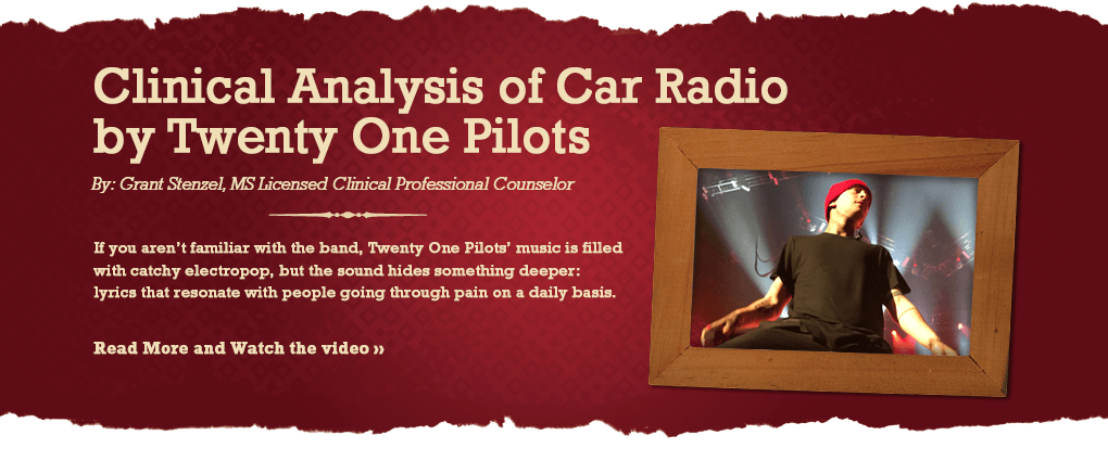 Clinical analysis of Car Radio by twenty one pilots