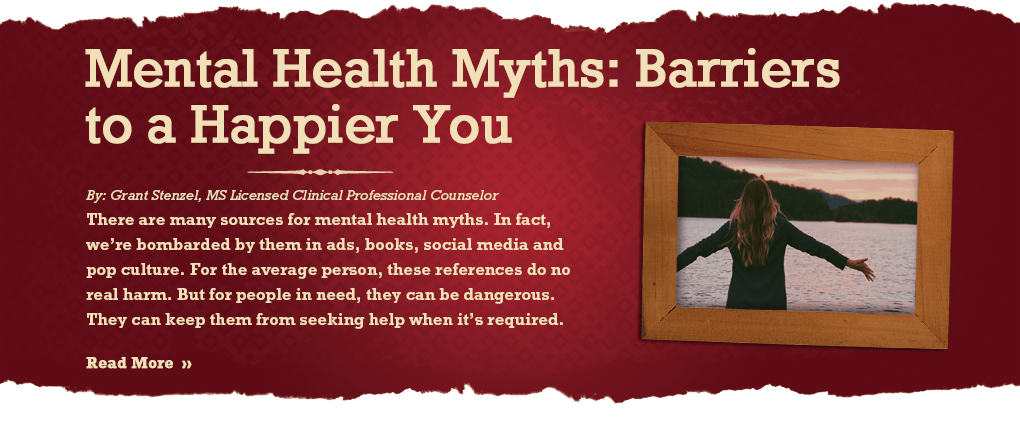 Mental Health Myths: Barriers to a Happier You